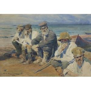 Wygrzywalski Feliks Michał, ODPOCZYNEK RYBAKÓW, 1918