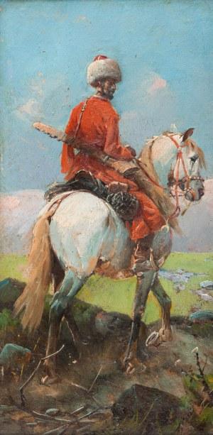 MN - w typie Franza Roubaud (XIX / XX w.), Kozak na koniu