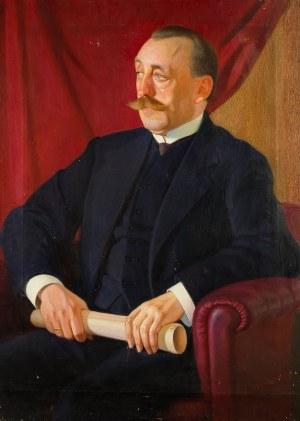 Edward Butrymowicz (1879-1944), Portret Felicjana Otockiego (1870-1931), ok. 1930 r.