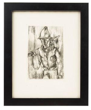 Eugeniusz Zak (1884 Mogilno – 1926 Paryż), Wędrowiec, z La porte Lourde, Paryż, 1929 r.