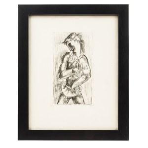 Eugeniusz Zak (1884 Mogilno – 1926 Paryż), Młodzieniec z kwiatkiem, z La Porte Lourde, Paryż, 1929 r.