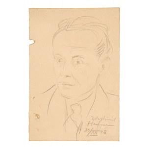Wlastimil Hofman (1881 Praga - 1970 Szklarska Poręba), Portret adwokata, 1948 r.