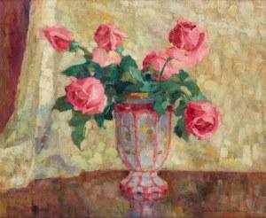 Zofia Albinowska (1886-1971), Kwiaty w wazonie
