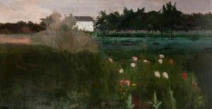 Jerzy Karszniewicz (1878 Tarnów - 1945 Kraków), Ogród, 1910 r.