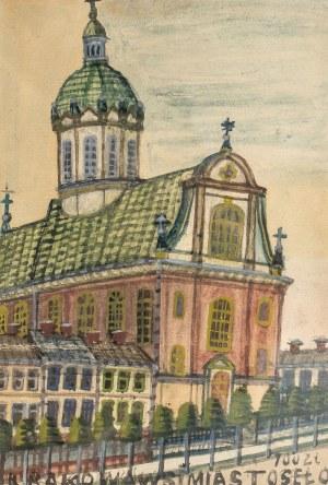 Nikifor Krynicki (1895 Krynica-1968 Folusz), Kościół w Krakowie