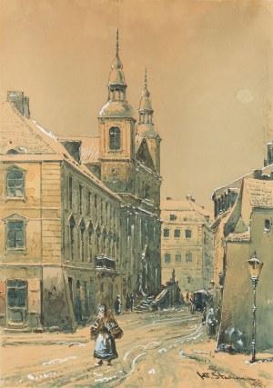 Władysław Stachowicz (1911 Warszawa – 1979 tamże), Kościół Paulinów na ulicy Długiej na Nowym Mieście w Warszawie