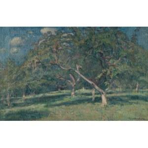 Ludwik Kwiatkowski (1880-1953), W sadzie