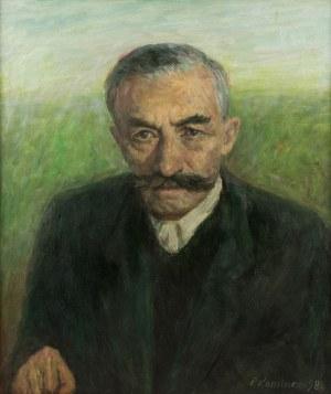 Piotr Komincz (ur. 1927), Portret Wincentego Witosa, 1984 r.