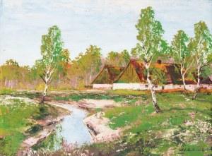 Andrzej Malinowski (1885 Czempin - 1932 Poznań), Pejzaż wiejski