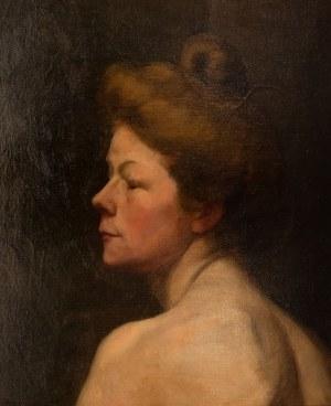 Artysta nieokreślony (1 poł. XX w.), Portret kobiety