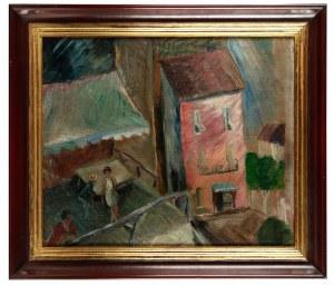 Leopold Levy (1882 Paryż - 1966), Pejzaż miejski