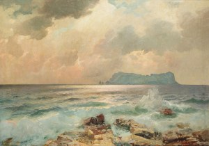 Aleksander Dzigurski (1911-1995), Widok na Capri, 1948 r.