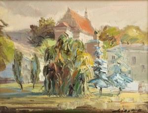 Ryszard Lizut (ur. 1948 r.), Widok na kościół w Kazimierzu Dolnym