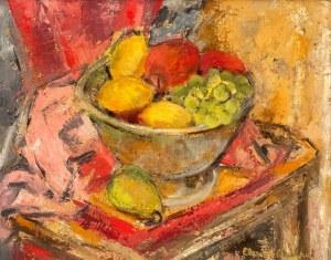 Artysta nieokreślony (2 poł. XX w.), Martwa natura z owocami
