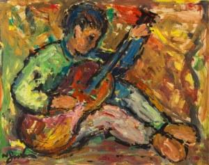 Nathan Gutman (1898-1987), Gitarzysta