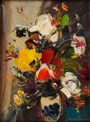 Józef Wasiołek (1921 Smarglin - 2008 Łódź), Kolorowe kwiaty