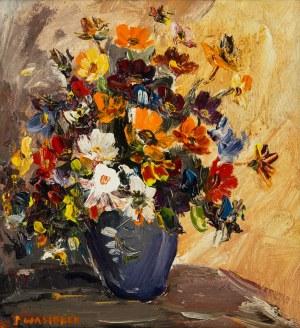 Józef Wasiołek (1921 Smarglin - 2008 Łódź), Bukiet kwiatów