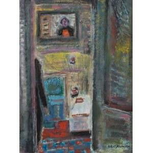 Halina Centkiewicz-Michalska (1912-2007), Odbicie w lustrze, 1994 r.