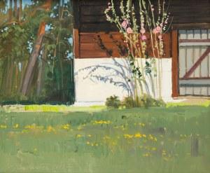 Jan Wołek (ur. 1954 r.), Malwy w ogrodzie, 2012 r.