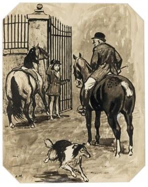 Ludwik Maciąg (1920 Kraków - 2007), Ilustracja do Lassie, wróć!