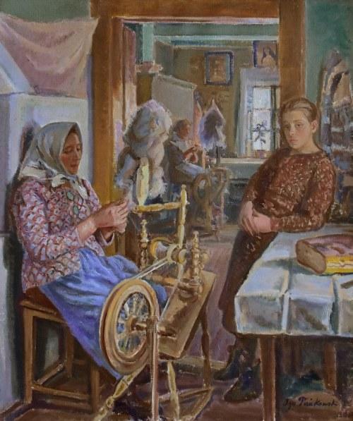Ignacy Pieńkowski (1877-1948), Prządki