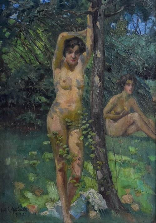 Robert Emil Stübner (1874 - 1931), Dwa akty, 1922