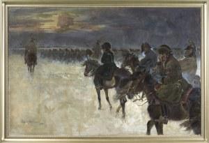 Jerzy Kossak, ODWRÓT SPOD MOSKWY