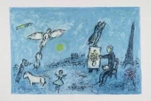 Marc Chagall (1887 - 1985), Malarz i jego sobowtór