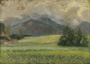Jan RYKAŁA (1883-1943), Pejzaż podgórski