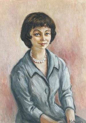 Katarzyna LIBROWICZ (1912-1991), Portret młodej kobiety