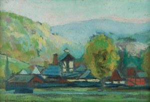 Jan HRYNKOWSKI (1891-1971), Rozlewnia wody w Polanicy Zdroju, 1953