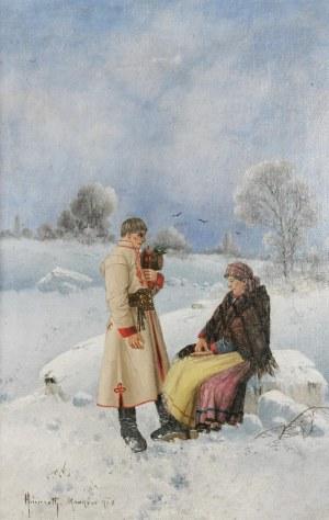 Karol HEIMROTH (1860-1930), Wieśniacy, 1908