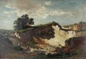 Fritz HALBERG-KRAUSS (1874-1951), Pejzaż, 1921