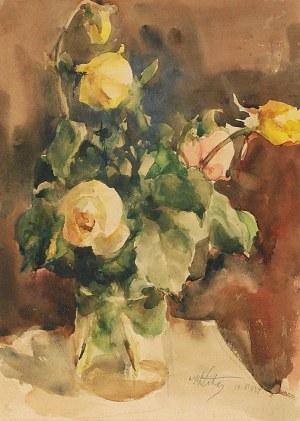Marcin KITZ (1891-1943), Róże w wazonie, 1934