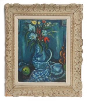 Boris Borvine FRENKEL (1895-1984), Martwa natura niebieska