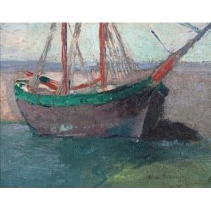 Włodzimierz TERLIKOWSKI (1873-1951), Łódź rybacka, 1915