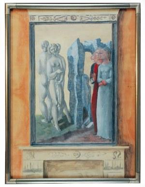 Zygmunt DOBRZYCKI (1896-1970), Trzy gracje w wersji antycznej i renesansowej, 1931