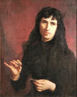Bronisława ŁUKOMSKA-WIELOWIEYSKA (1865-1939), Portret kobiety