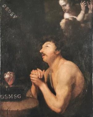 Malarz nieokreślony XVII / XVIII w., Wyobrażenie świętego