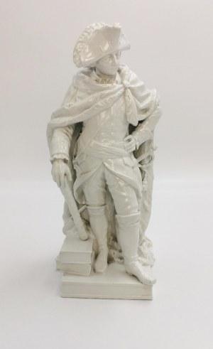 BERLIN, Królewska Manufaktura Porcelany (KPM), Figurka Fryderyka II, króla Prus