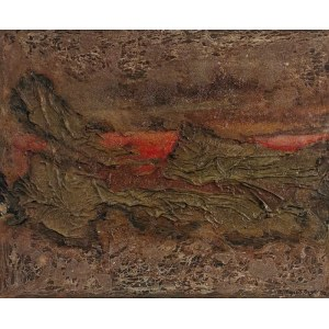 Stanisław KRZYSZTAŁOWSKI (1903-1990), Zmierzch nad Pirenejami, 1973