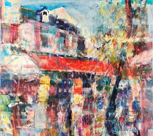 Krzysztof LUDWIN (ur. 1962), Montmartre Paryż, 2020