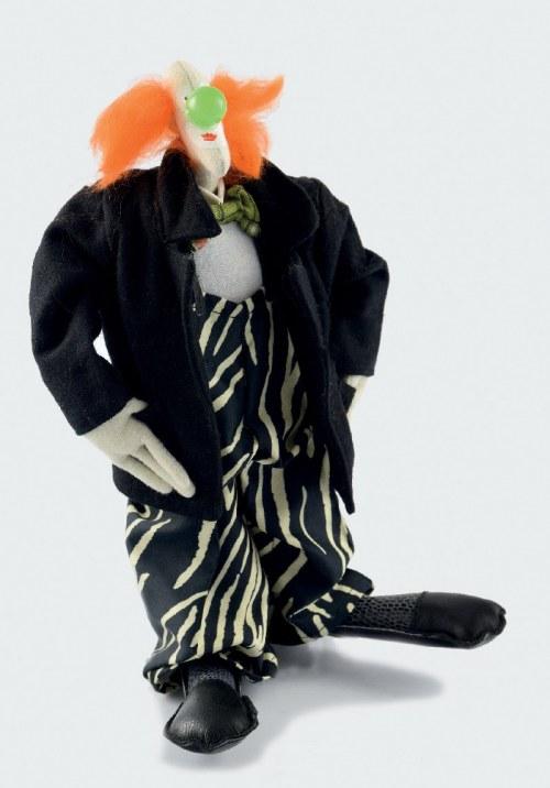 Paweł ALTHAMER (ur. 1967), Lalka - klaun z zielonym nosem, 1996