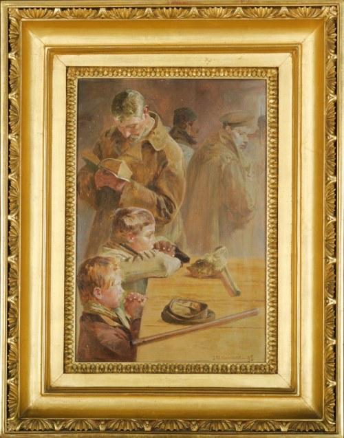 Jacek MALCZEWSKI (1854-1929), Sybiracy - modlitwa (1895)
