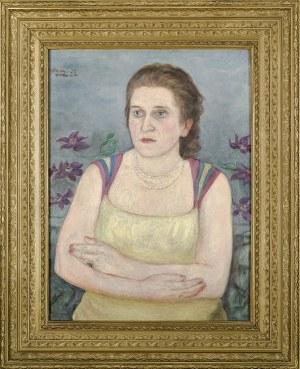 Wlastimil HOFMAN (1881-1970), Portret Haliny Zadęckiej