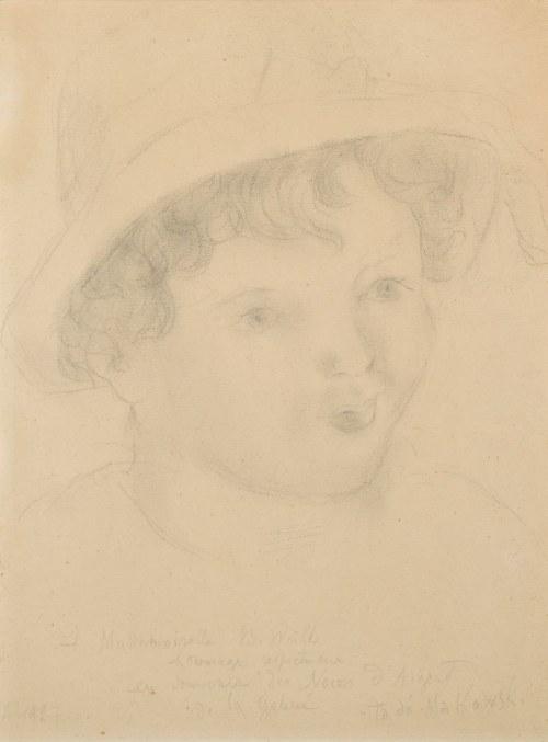 Tadeusz MAKOWSKI (1882-1932), Portret dziewczynki (1927)