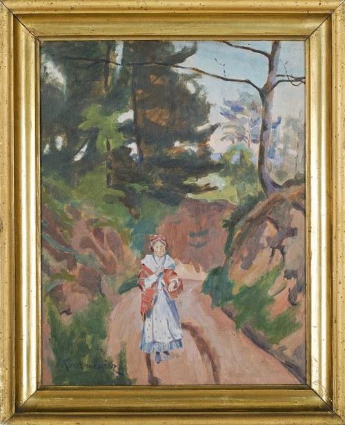 Jerzy KARSZNIEWICZ (1878-1945), Droga w lesie