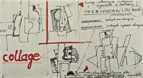 Tadeusz KANTOR (1915-1990), Metody kolażu i kubizmu (1967-1968)