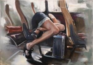 Ryszard Machocki, Dziewczyna z autobusu