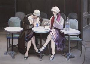 Wioleta Rzążewska, Przy kawie
